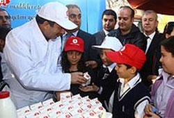 Okul sütü projesi başlatılıyor