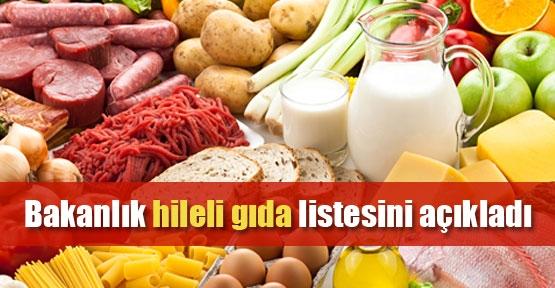 """2015 yılının """"hileli"""" gıdaları"""