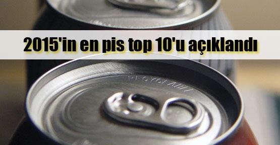 2015'in en pis 10 ürünü açıklandı