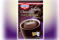 Dr. Oetker'den Double Chocolate!