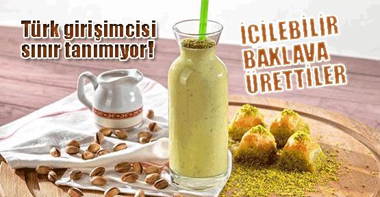 Adana'da içilebilir baklava ürettiler