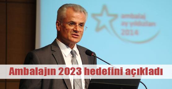 Ambalaj 2023 vizyonu açıklandı