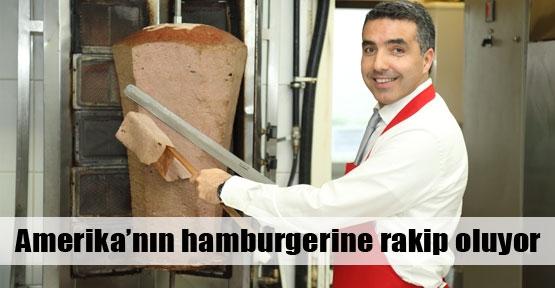 Amerika'nın hamburgerine rakip oluyor