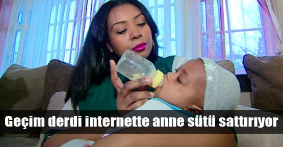Anne sütü internete düştü!