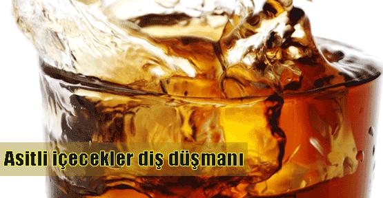 Asitli içecekler dişe zarar veriyor