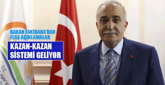 Bakan Fakıbaba'dan flaş et açıklaması