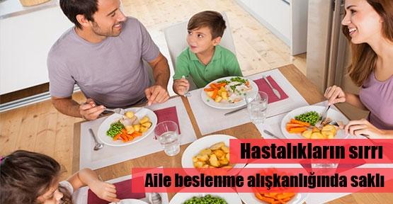Beslenme alışkanlığı hasta edebilir