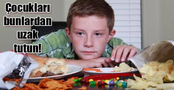 Bu besinler çocuğu perişan ediyor