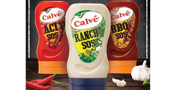 Calvé'den eğlenceli soslar