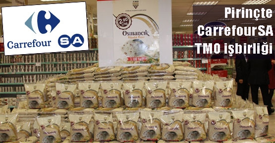 CarrefourSA pirinçte yüzde 50 indirime gitti