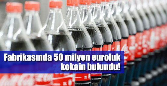 CocaCola fabrikasında kokain şoku