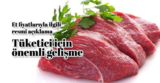 Et fiyatlarında flaş gelişme