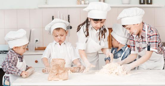Geleceğin şefleri bu mutfakta yetişiyor