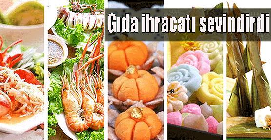 Gıda ihracatı hızla yükseliyor