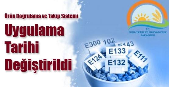 Gıda kodeksine ürün doğrulama ayarı