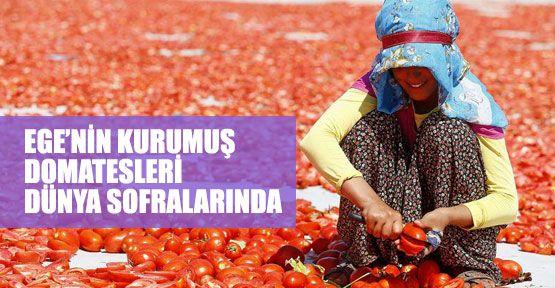 Gün kurusu domates dünya sofralarında