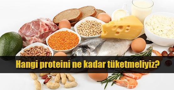 Hangi protein ne kadar tüketilmeli