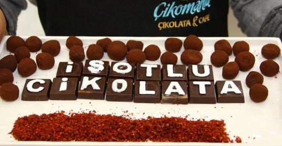 İsotlu çikolata çok güzel oldu