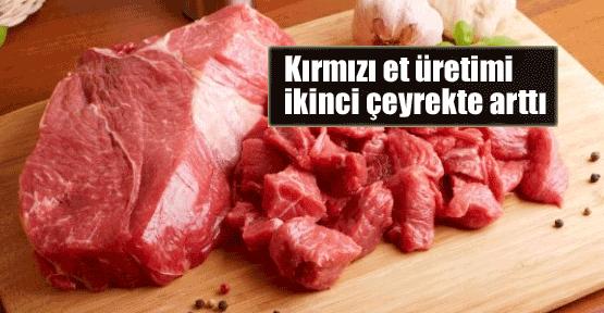 Kırmızı et üretiminde artış yaşanıyor