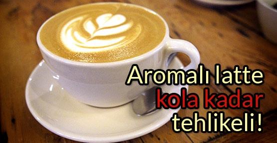 Latte içecekte kırmızı etiket dönemi