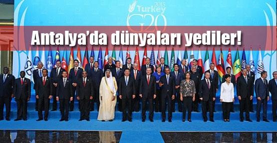 Liderler, Antalya'da dünyaları yedi
