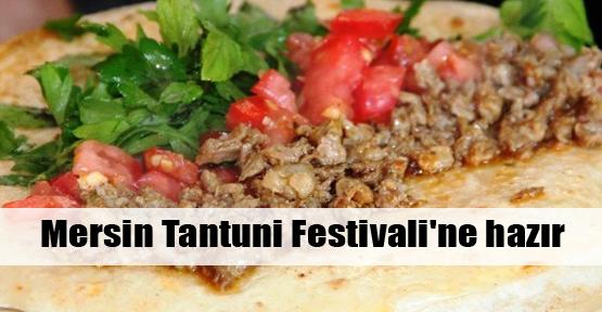 Mersin Tantuni Festivali'ne hazır