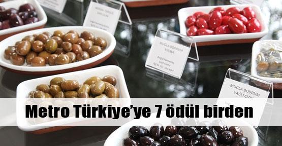 Metro Türkiye'ye 7 ödül birden