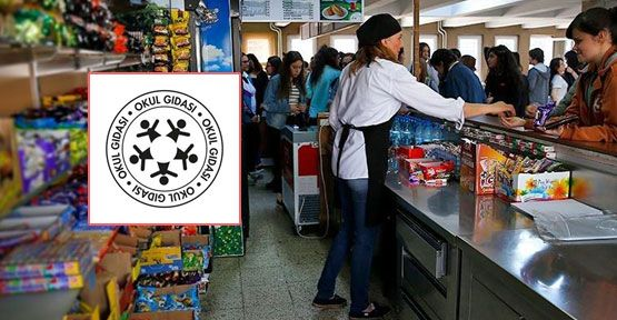 Okul Gıdası logosu nerelerde kullanılacak