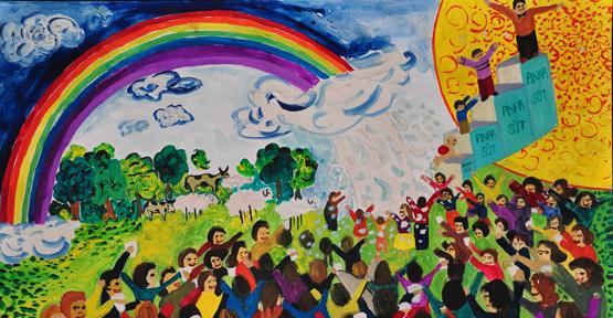 Pınar'dan 23 minik ressama ödül