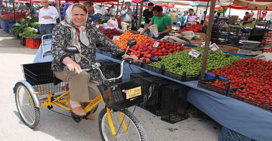 Eti 'Sarı Bisiklet Projesi'ni başlattı