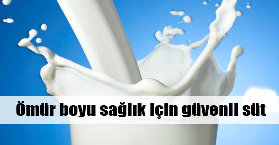Sağlıklı yaşam için güvenli süt