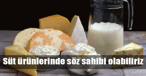 Süt ürünlerinde Ortadoğu çıkarması