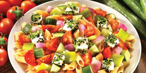 Yaza makarna diyeti ile hazırlanın!
