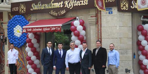Uluslararası Türk köfte zinciri için ilk adım