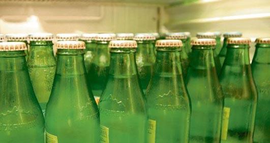 Kalp krizine karşı 1 şişe maden suyu