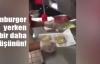 Çalışandan 'az kirletilmiş' hamburger