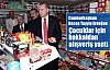 Erdoğan çocuklara çikolata dağıttı