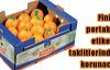 Finike portakalına etiketli koruma