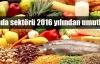 Gıda dünyası 2016'dan çok şey bekliyor