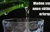 Maden suyu anne sütünü artırıyor