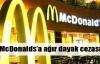 McDonalds'a ağır dayak cezası