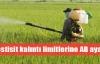 Pestisit kalıntı limitlerine AB ayarı