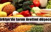Tahıl ve meyve üretimi düşecek