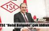 TSE Başkanı'ndan 'helal' iddiası