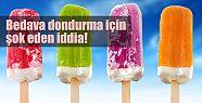 Bedava dondurma kurbanı olmayın!