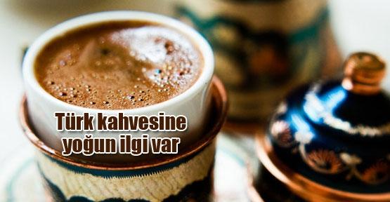 Türk kahvesi her yerde özel