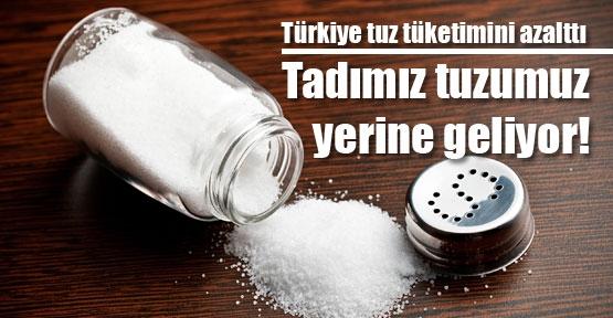 Türk tüketicisi tuz tüketimini azalttı