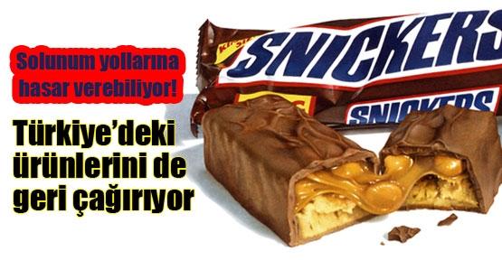 Türkiye'deki ürünler de geri çağrılıyor