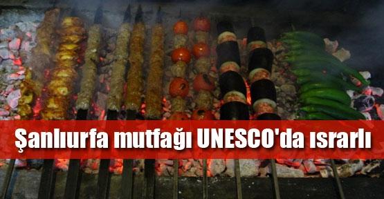 UNESCO sırasında Urfa mutfağı var