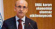 OHAL ekonomiyi engellemeyecek